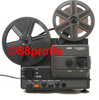 Bauer T 182, T182 Automatic Duoplay, Super 8 Projektor mit 2 Tonspuren