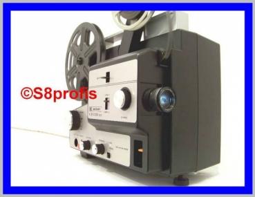 Multiformat, Super 8& Normal 8 Tonfilmprojektor von Bauer gebaut