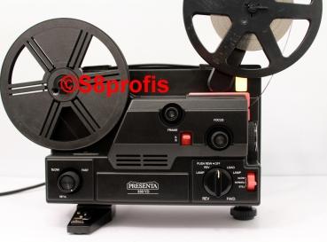 WIE NEU, in OVP, Super 8 & Normal 8 Multiformat,stufenlos, Filmprojektor Presenta 330-DV