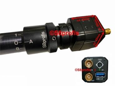 Filmtransfer FULL-HD 1080P USB 3& SDI mit Transfer-Objektiv